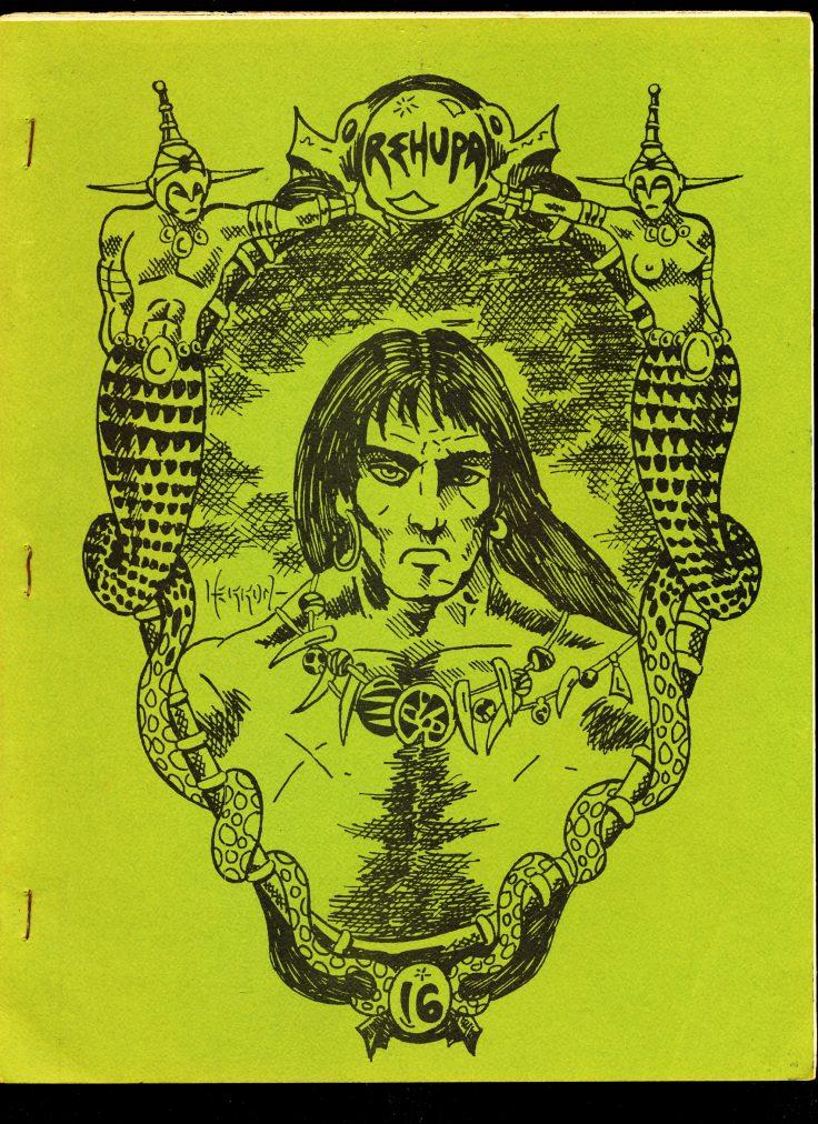 REHUPA #16 - 07/75 - VG - Robert E. Howard Fanzine