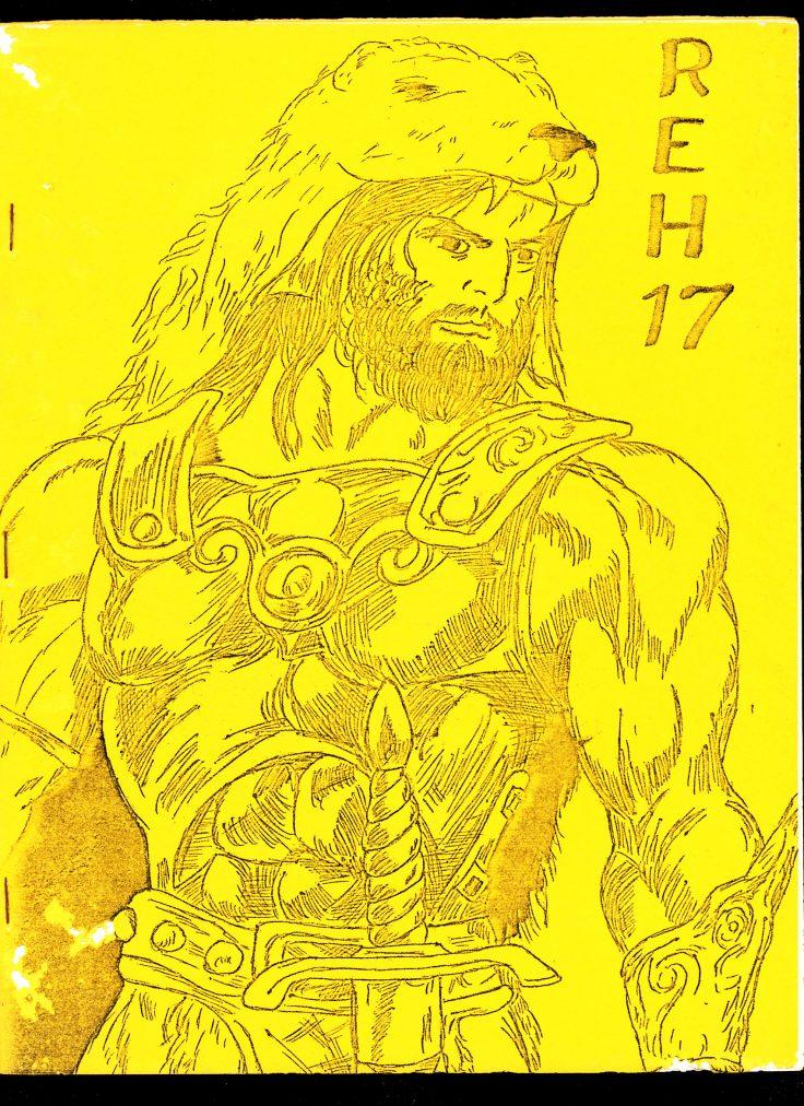 REHUPA #17 - 09/75 - VG - Robert E. Howard Fanzine