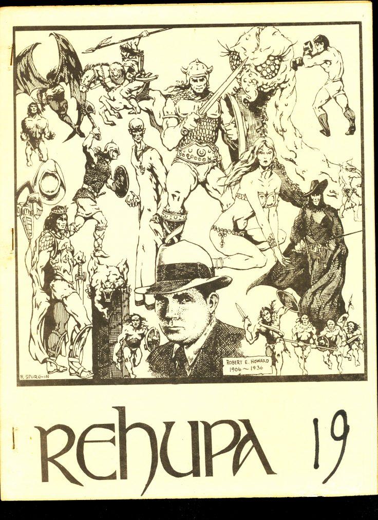REHUPA #19 - 01/76 - VG - Robert E. Howard Fanzine
