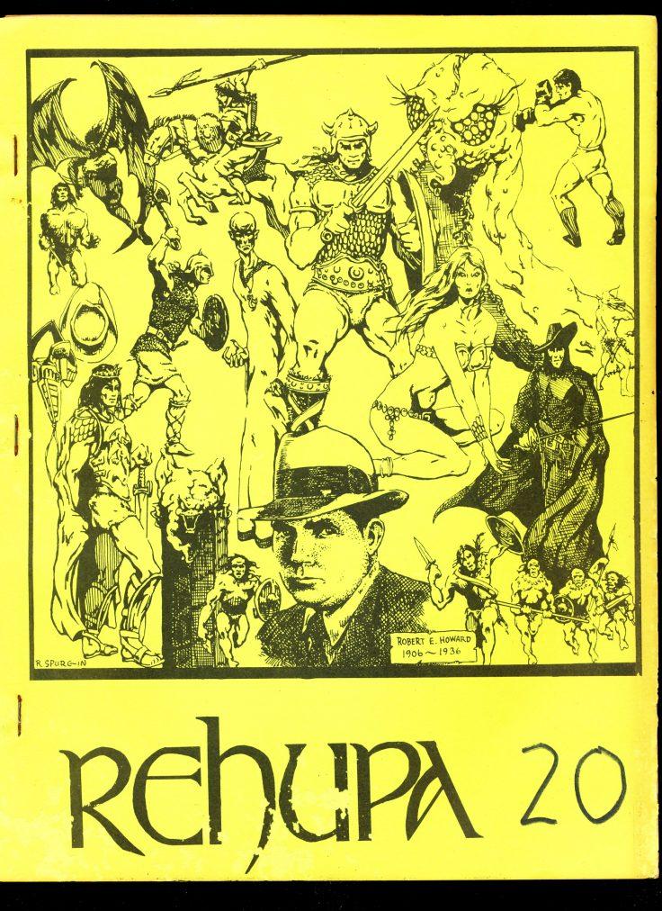REHUPA #20 - 03/76 - VG - Robert E. Howard Fanzine