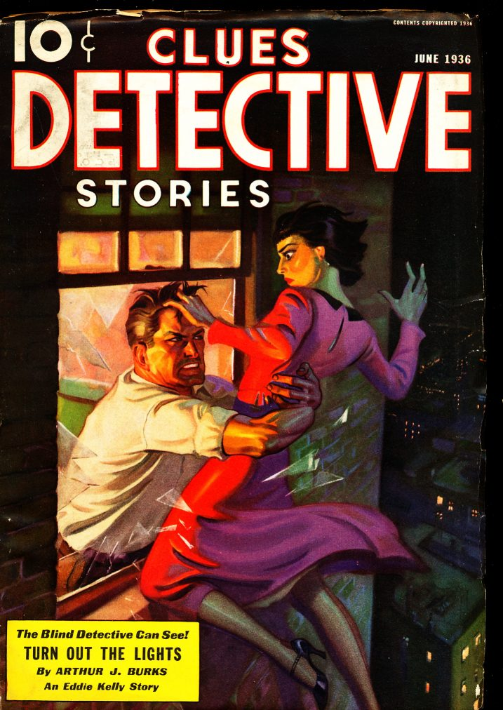 Clues Detective Stories - 06/36 - FN-VF - 81-30437