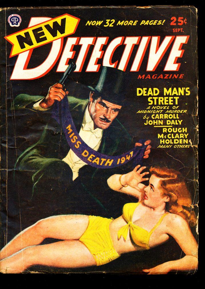 New Detective Magazine - 09/47 - VG - L. Ron Hubbard - 81-30462