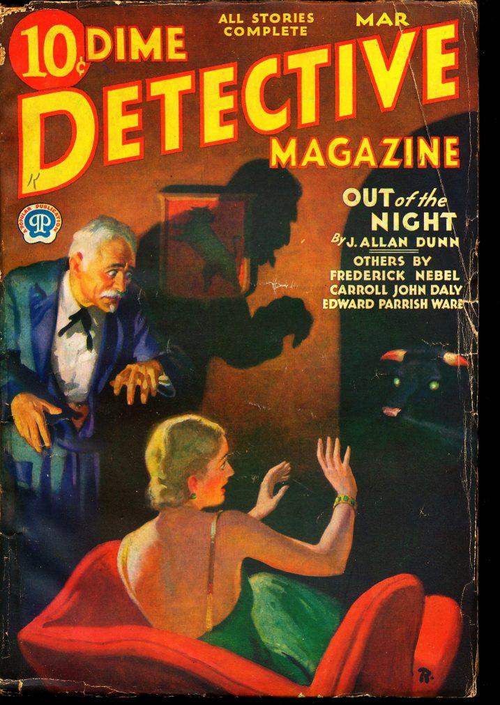 Dime Detective Magazine - 03/32 - VG - Nebel - 81-30490