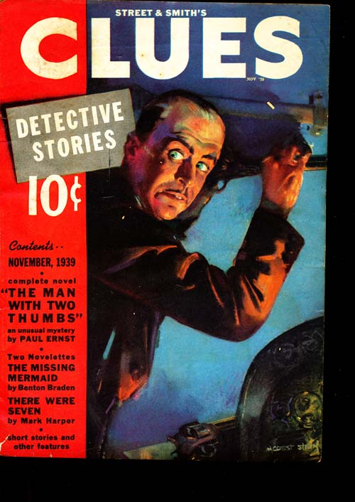 Clues Detective Stories - 11/39 - VGOOD - ID#: 80-94573