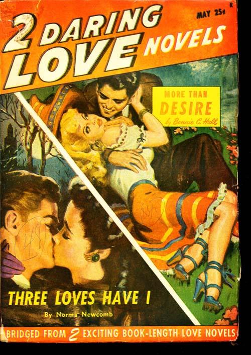 2 Daring Love Novels - 05/48 - GOOD + - ID#: 80-94186