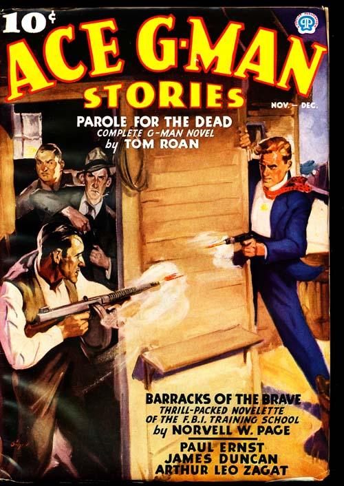 Ace G-Man Stories - 11-12/36 - FINE + - ID#: 80-94194