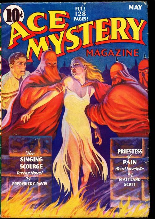 Ace Mystery Magazine - 05/36 - VGOOD + - ID#: 80-94223