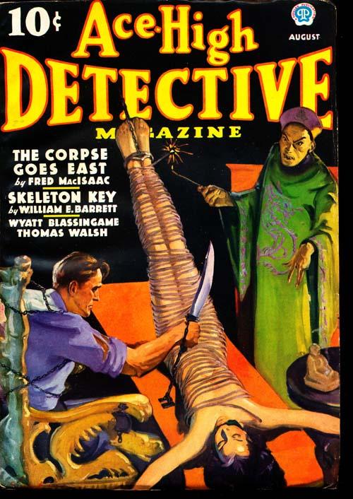 Ace-High Detective Magazine - 08/36 - FINE + - ID#: 80-94225