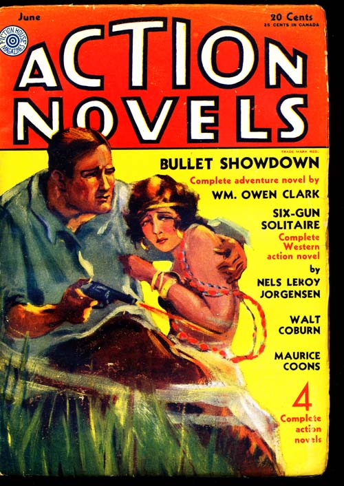 Action Novels - 06/31 - VGOOD - ID#: 80-94258