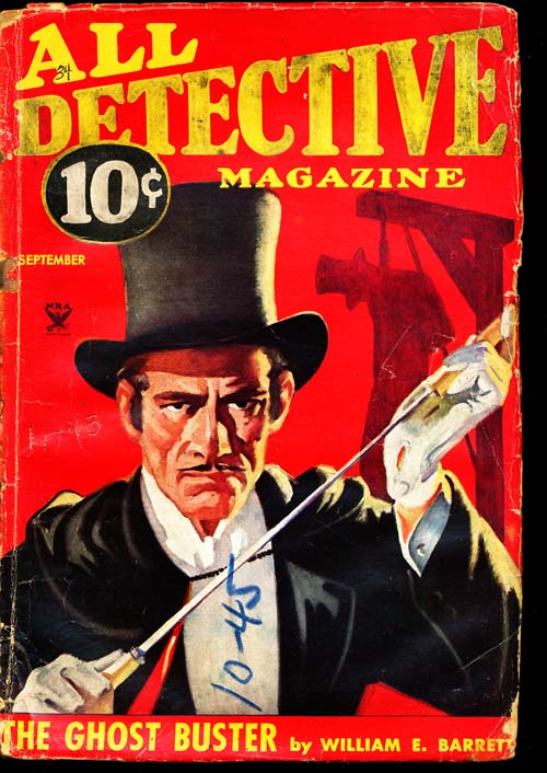 All Detective Magazine - 09/34 - GOOD - ID#: 80-94318