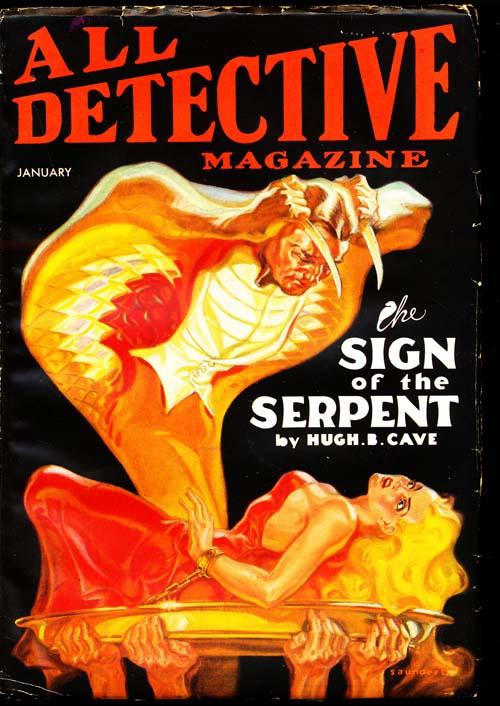 All Detective Magazine - 01/35 - VGOOD + - ID#: 80-94320