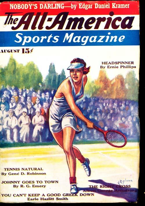 All-America Sports Magazine - 08/35 - FINE - ID#: 80-94336