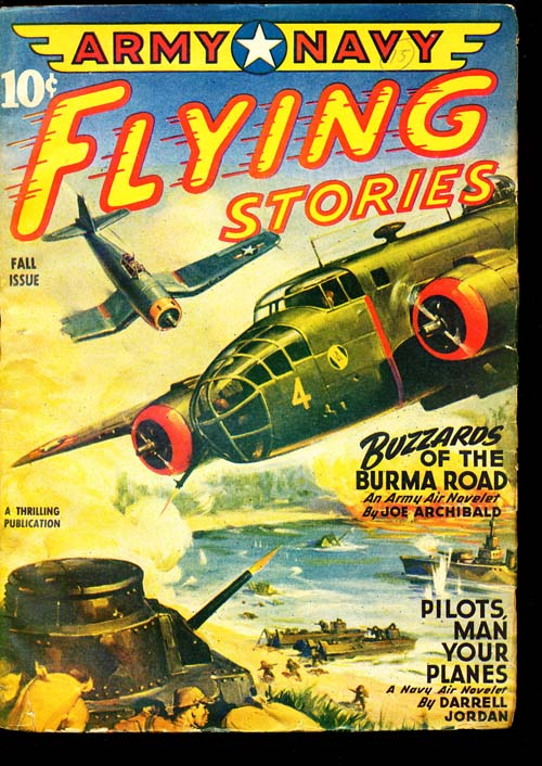 Army Navy Flying Stories - FALL/44 - VGOOD - ID#: 80-94377