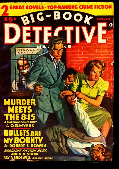 Big-Book Detective Magazine - 12/41 - VGOOD - ID#: 80-94427