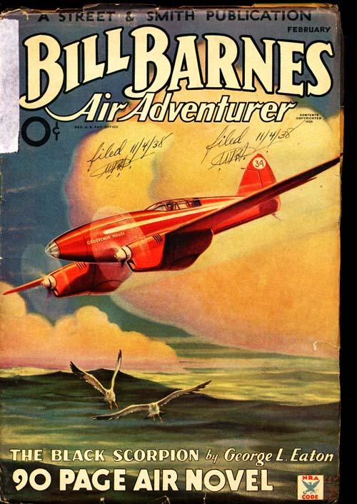 Bill Barnes Air Adventurer - 02/35 - GOOD + - ID#: 80-94436