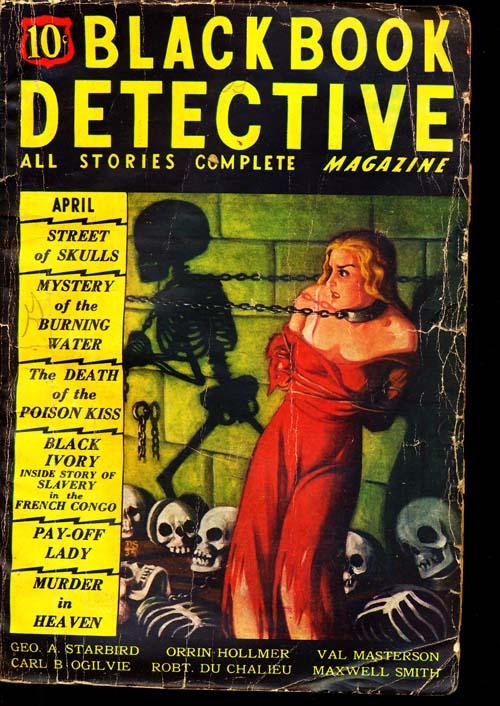 Black Book Detective Magazine - 04/35 - GOOD - ID#: 80-94473