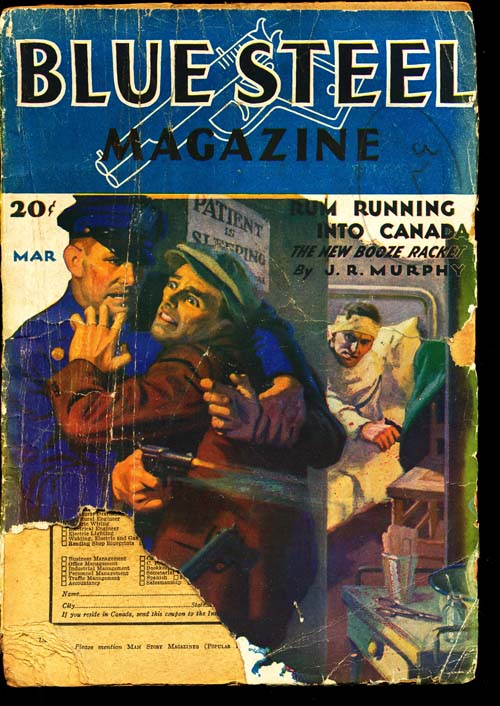 Blue Steel Magazine - 03/32 - POOR - ID#: 80-94499