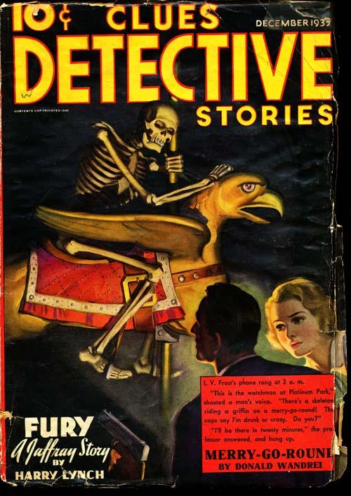 Clues Detective Stories - 12/35 - GOOD + - ID#: 80-94545