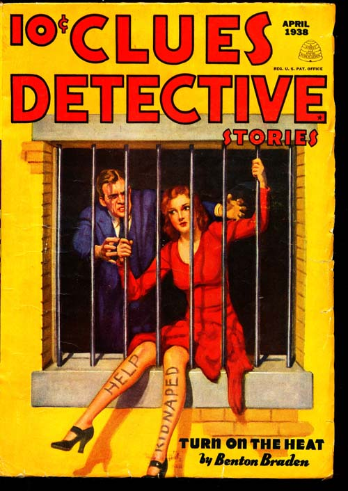 Clues Detective Stories - 04/38 - VGOOD + - ID#: 80-94560