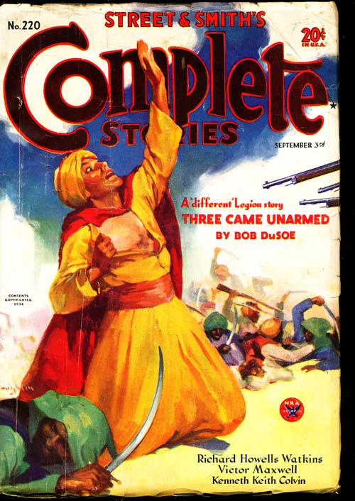 Complete Stories - 09/03/34 - VGOOD - ID#: 80-94634