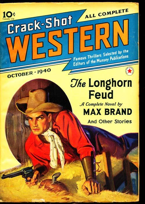 Crack-Shot Western - 10/40 - FINE - ID#: 80-94653