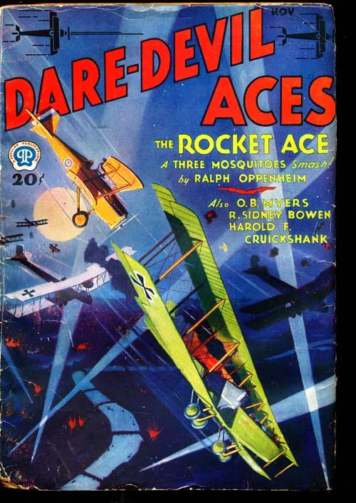Dare-Devil Aces - 11/32 - GOOD + - ID#: 80-94687