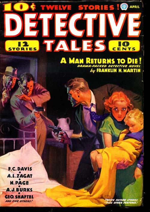 Detective Tales - 04/36 - FINE + - ID#: 80-94755