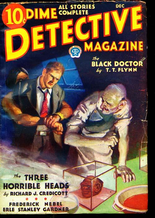 Dime Detective Magazine - 12/32 - NFINE - ID#: 80-94787