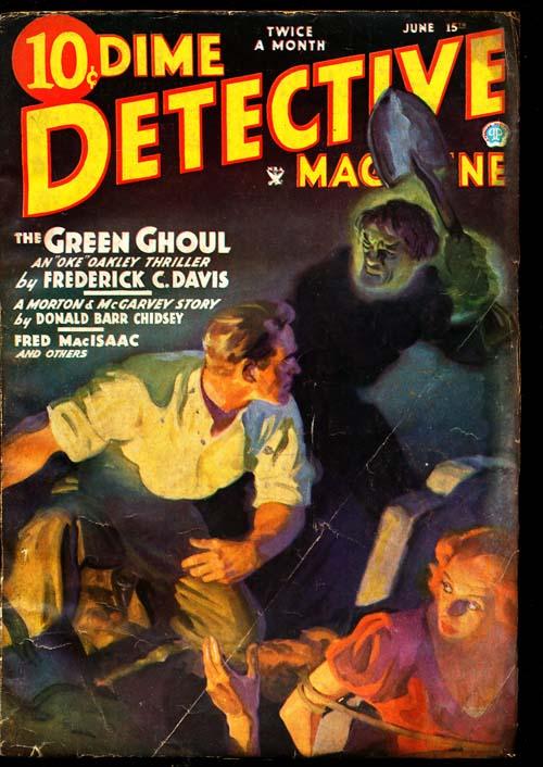 Dime Detective Magazine - 06/15/35 - GOOD + - ID#: 80-94813