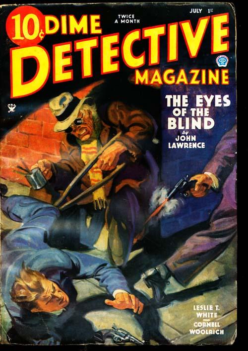 Dime Detective Magazine - 07/01/35 - GOOD + - ID#: 80-94814