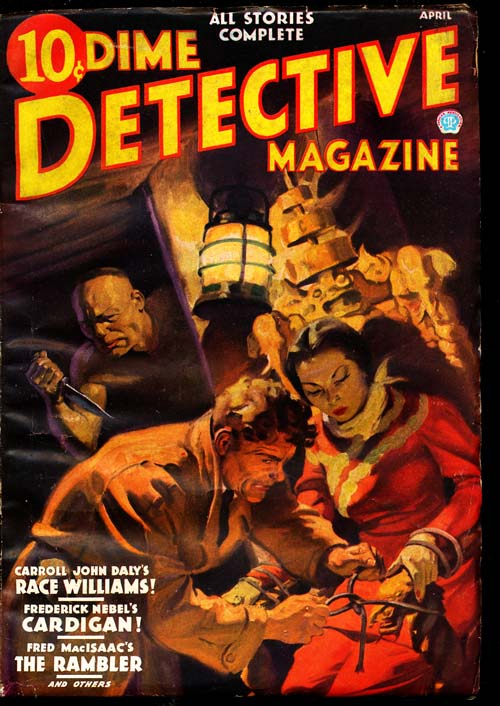 Dime Detective Magazine - 04/36 - VGOOD - ID#: 80-94821