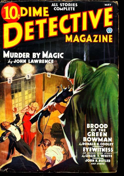 Dime Detective Magazine - 05/36 - NFINE - ID#: 80-94822