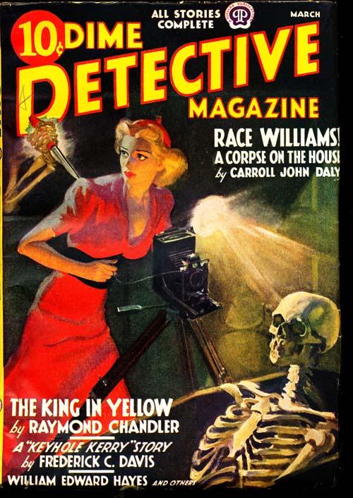 Dime Detective Magazine - 03/38 - FINE + - ID#: 80-94832