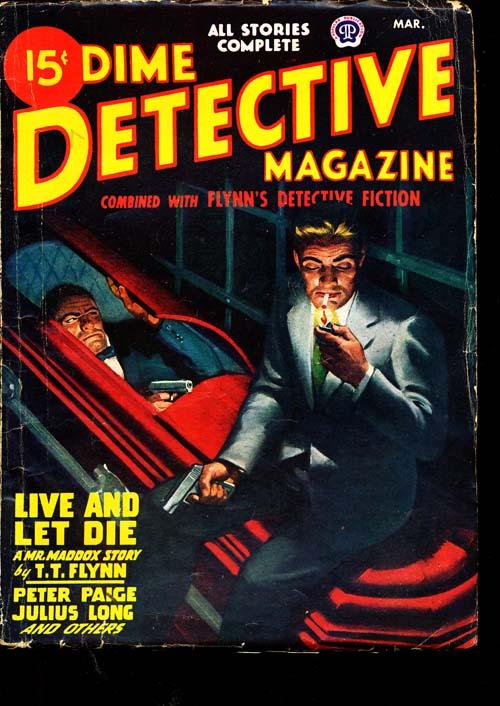 Dime Detective Magazine - 03/47 - VGOOD - ID#: 80-94846