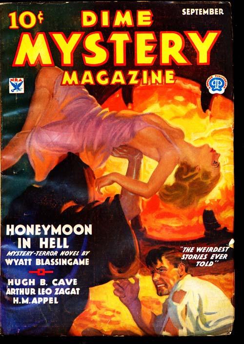 Dime Mystery Magazine - 09/34 - VGOOD - ID#: 80-94866