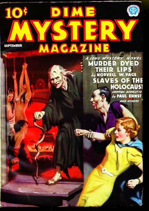Dime Mystery Magazine - 09/37 - VFINE - ID#: 80-94900