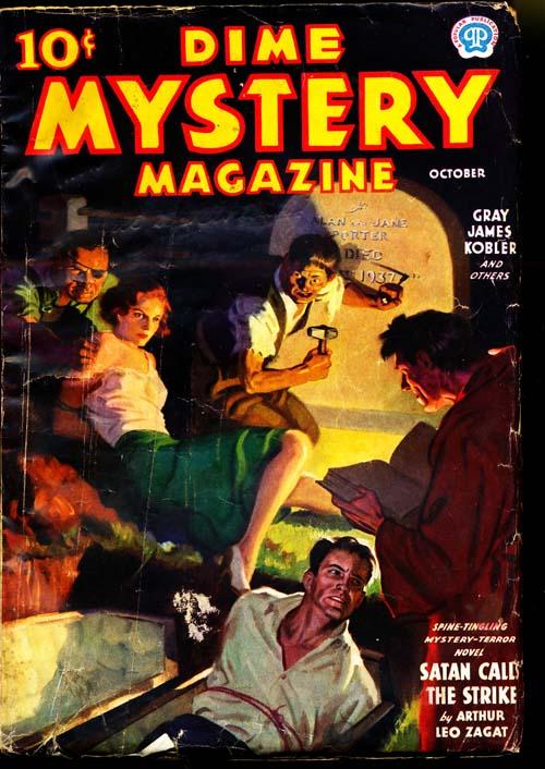 Dime Mystery Magazine - 10/37 - VGOOD - ID#: 80-94901