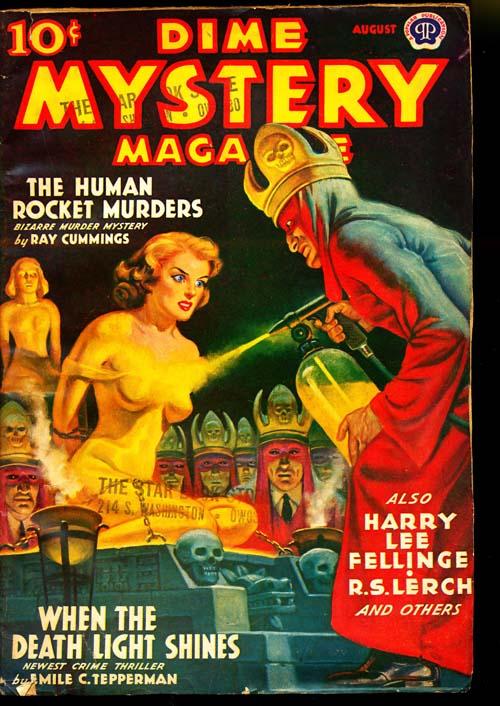 Dime Mystery Magazine - 08/39 - VGOOD - ID#: 80-94920