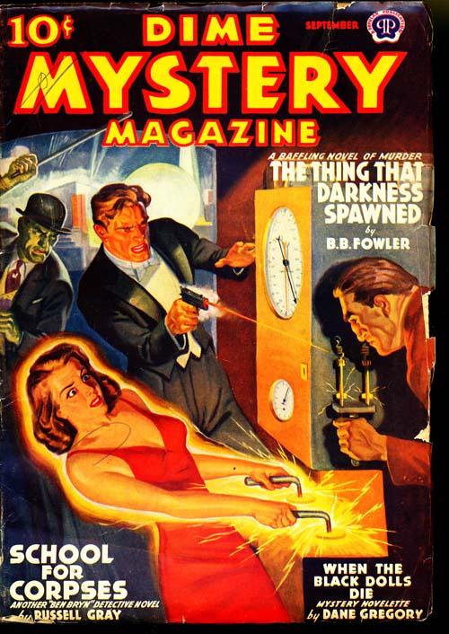 Dime Mystery Magazine - 09/39 - VGOOD - ID#: 80-94921