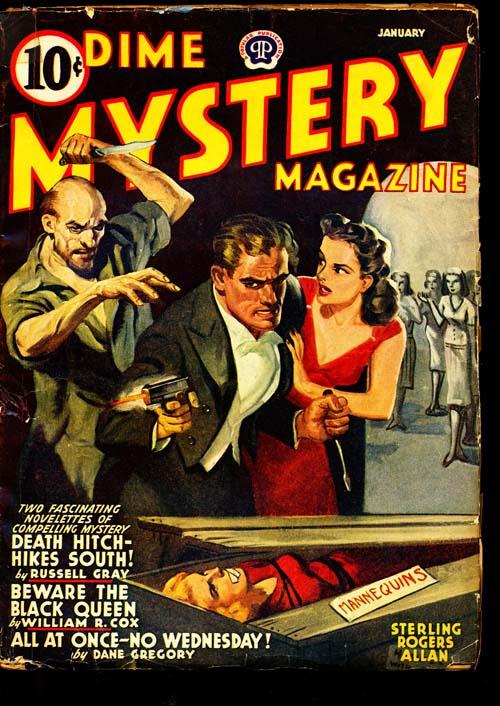 Dime Mystery Magazine - 01/42 - VGOOD - ID#: 80-94941