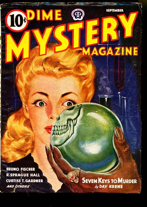 Dime Mystery Magazine - 09/44 - VGOOD - ID#: 80-94955