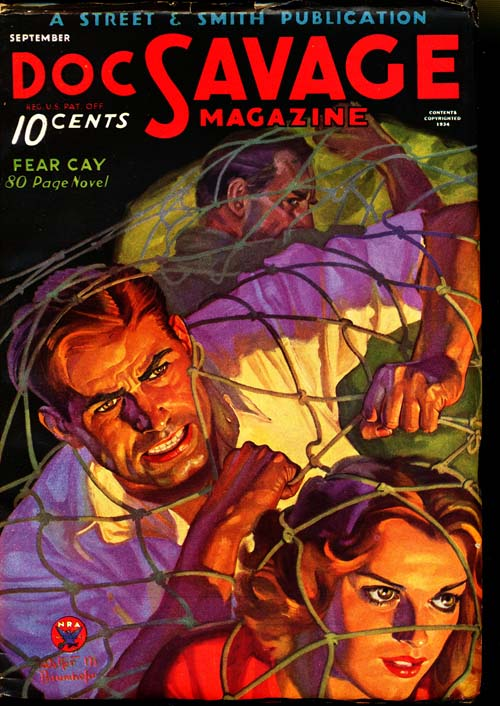 Doc Savage - 09/34 - NFINE - ID#: 80-95013