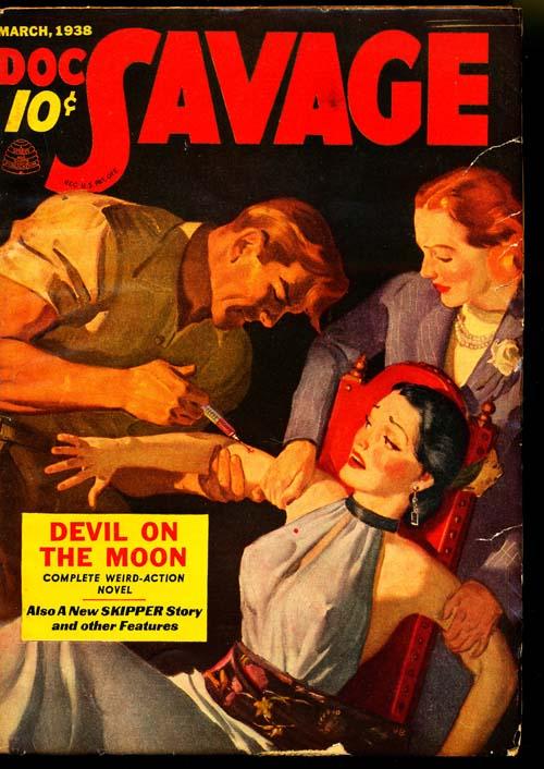 Doc Savage - 03/38 - FINE + - ID#: 80-95055