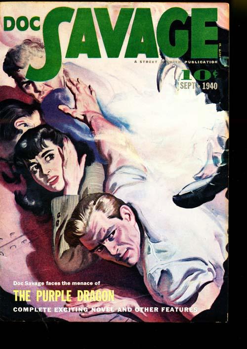 Doc Savage - 09/40 - VFINE - ID#: 80-95085