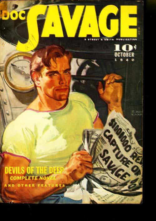Doc Savage - 10/40 - NFINE - ID#: 80-95086