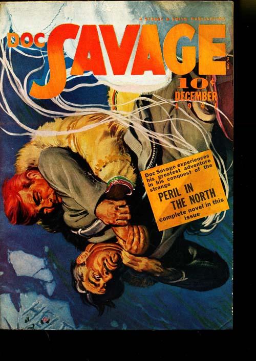Doc Savage - 12/41 - FINE + - ID#: 80-95100