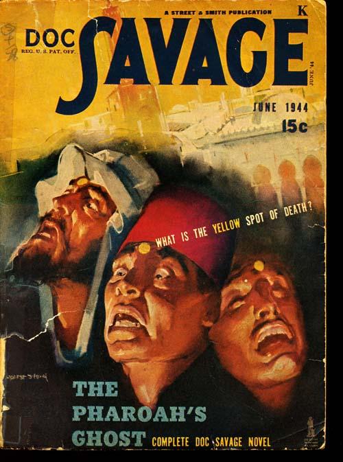 Doc Savage - 06/44 - GOOD + - ID#: 80-95130