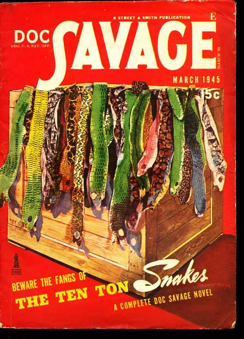 Doc Savage - 03/45 - VGOOD + - ID#: 80-95139