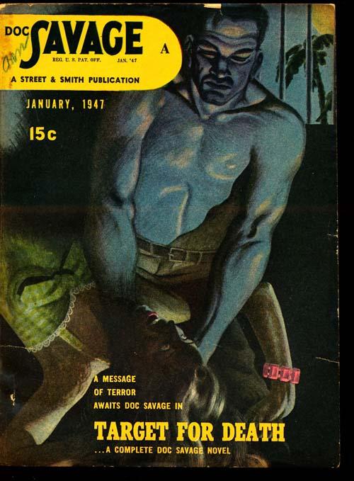 Doc Savage - 01/47 - FINE - ID#: 80-95161