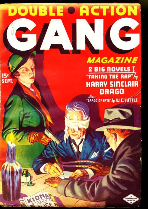 Double Action Gang Magazine - 09/36 - NFINE - ID#: 80-95187